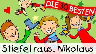 Stiefel raus, Nikolaus  - Weihnachtslieder zum Mitsingen || Kinderlieder