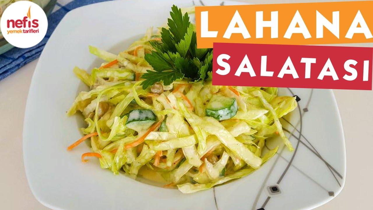 Çin Lahana Salatası Nasıl Yapılır Resimli Tarif