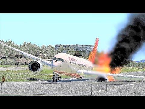Repeat Luxair B737 Water Crash Landing - (HD) by Uçak