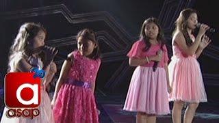 """ASAP: Lyca, Elha, Sassa, Esang sing """"Pangarap na Bituin"""" on ASAP"""