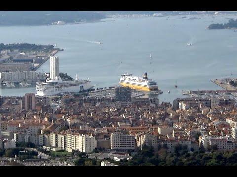 View of Toulon, Var, Provence-Alpes-Côte d'Azur, France, Europe