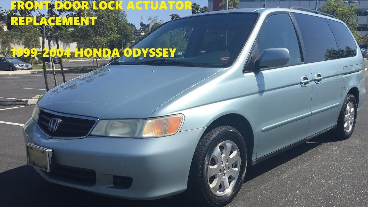 Front Door Lock Actuator Replacement How To 1999 2004 Honda Odyssey