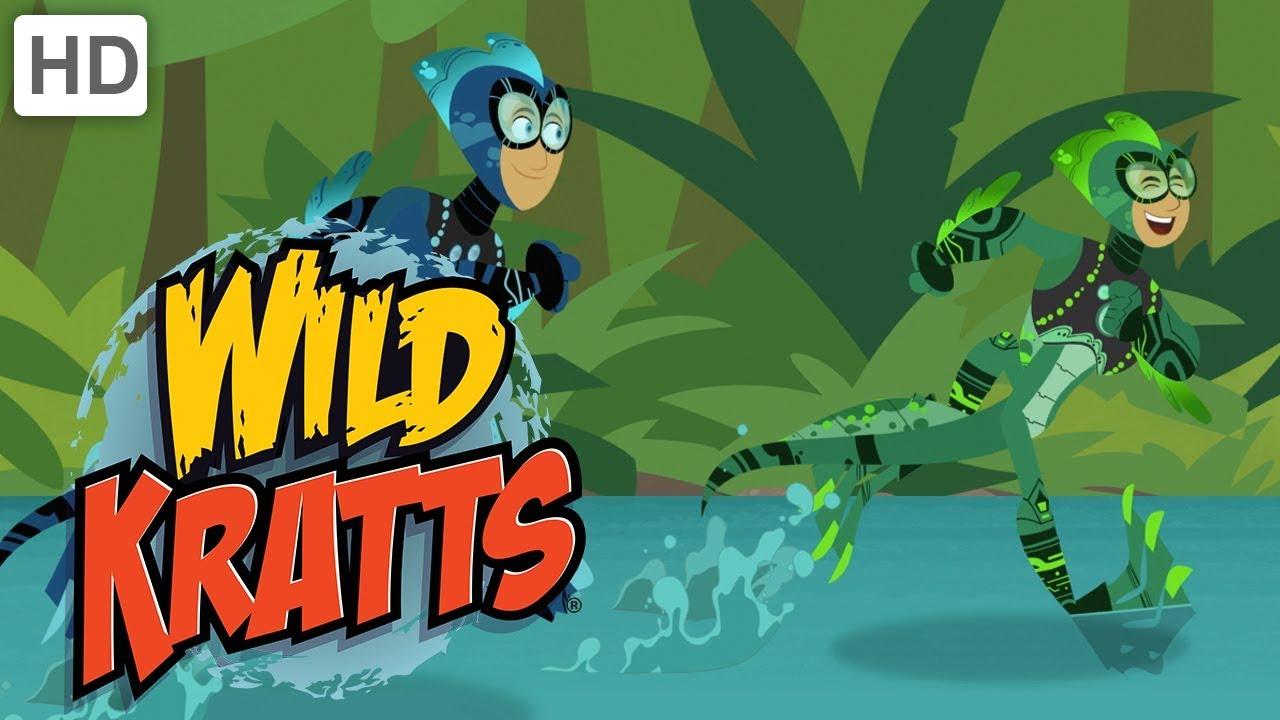 Wild Kratts Underwater Creatures Challenge Youtube