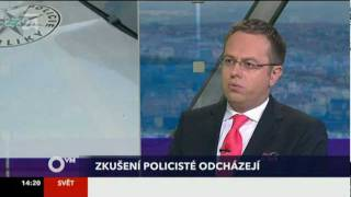 Otázky Václava Moravce ČT24 - Stiglitz, Mikloš, Dlouhý, Švejnar 2/2