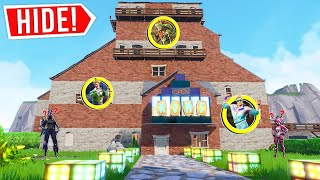 FORTNITE *NEW* GIANT HOUSE HIDE AND SEEK! (Creative Mode)