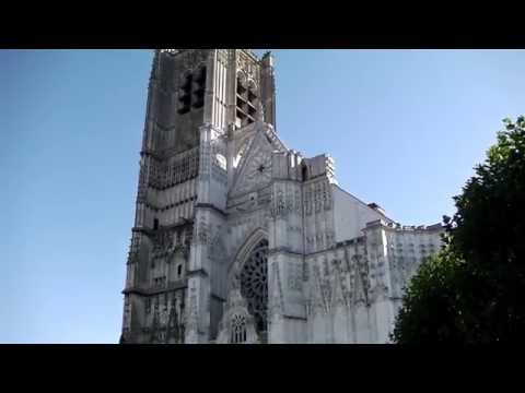 St Etienne Cathedral, Auxerre, France
