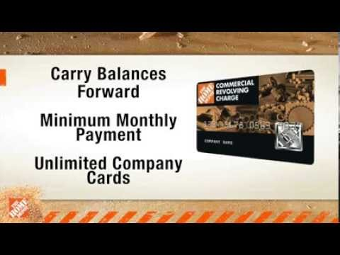 Commercial Credit - The Home Depot