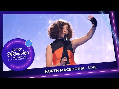 North Macedonia 🇲🇰 - Mila Moskov - Fire - LIVE - Junior Eurovision 2019