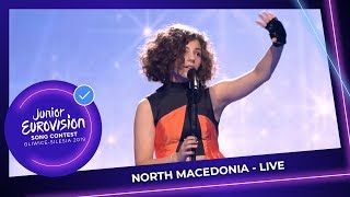 North Macedonia  - Mila Moskov - Fire - LIVE - Junior Eurovision 2019