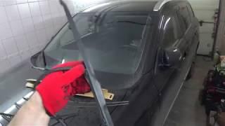 Как поменять щетки стеклоочистителя и какие купить на Mitsubishi