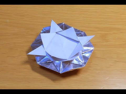 How to make UFO (Origami)