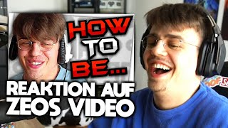 "Papaplatte reagiert auf ZEO ""HOW TO BE PAPAPLATTE"" 😂👌🏼 