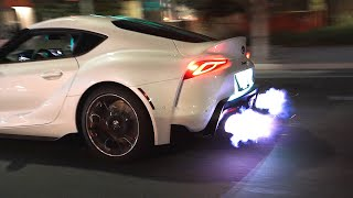 STRAIGHT PIPED 2020 SUPRA SHOOTS FLAMES!!!
