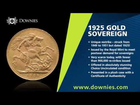 Why the 1925 Gold Sovereign is not what it seems
