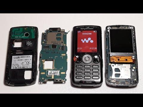 Sony Ericsson W810i | Restore broken mobile phone Вторая жизнь ретро телефона. Восстановление part 2