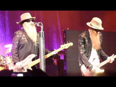 ZZ Top - Catfish Blues (Muddy Waters Cover) Performed Live In Hamilton March 5th 2015
