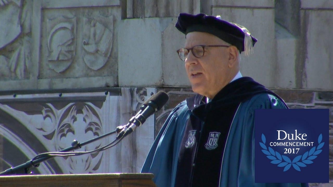 David Rubenstein, Duke University Commencement 2017 ...