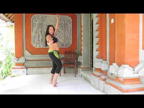 Free Belly dance workout/ class (#1 of 8)  in BALI ! Let's dance.