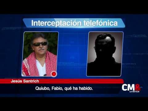 Santrich fue alertado de su captura, según revela interceptación