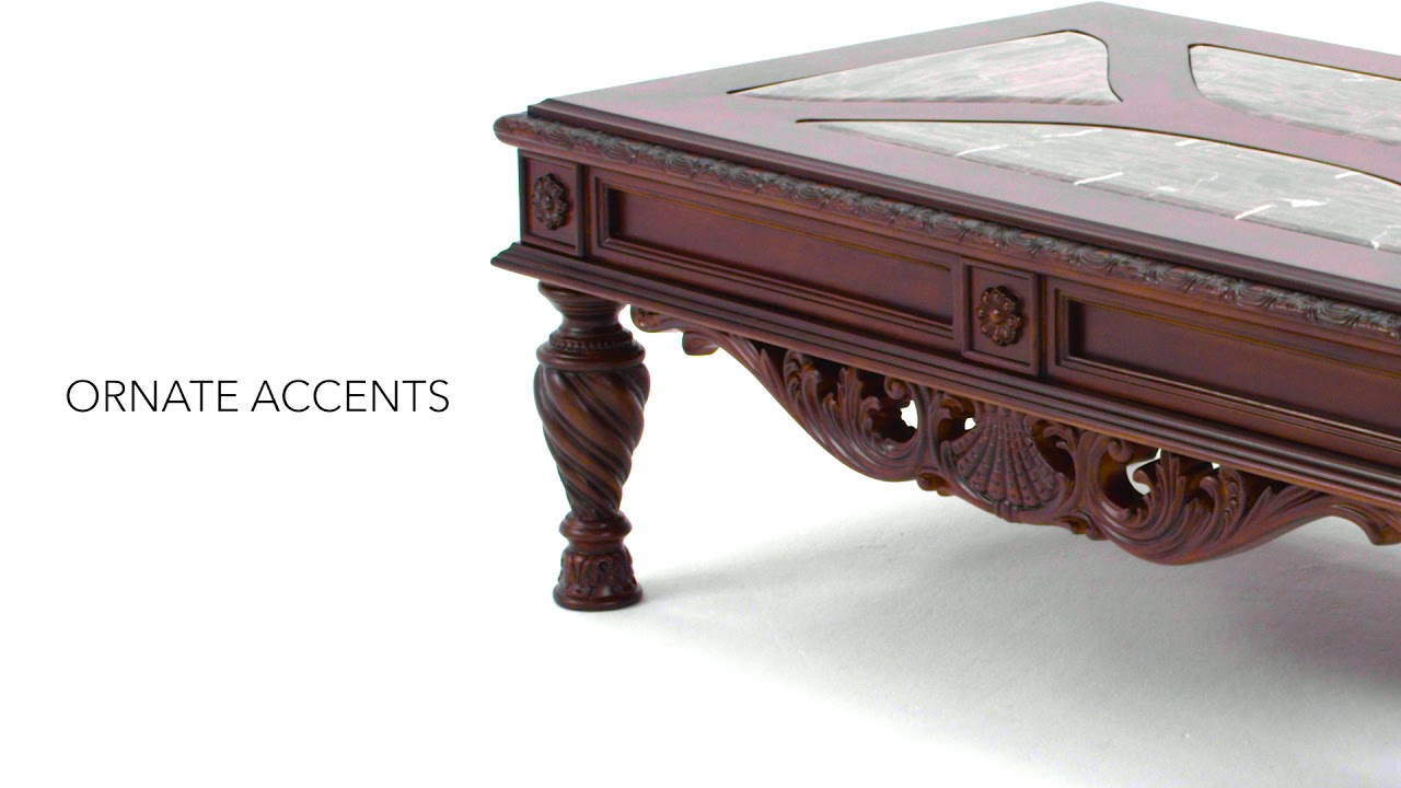 Ashley HomeStore North Shore Coffee Table YouTube