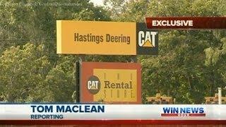 Hastings Deering Employees Raise Concerns About 457 Visas - WIN News Rockhampton (Dec 17, 2013)