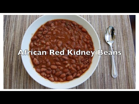 African Red Kidney Beans