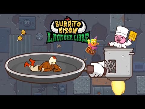 Burrito Bison: Launcha Libre - Прохождение 22 Cookinator (iOS/Adroid Gameplay)
