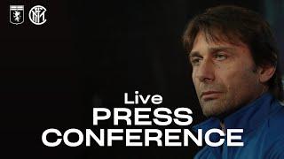 GENOA vs INTER | LIVE | ANTONIO CONTE PRE-MATCH PRESS CONFERENCE | 🎙️⚫🔵 [SUB ENG]