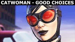 Catwoman Selina Kyle - Good Choices & Best Outcome - BATMAN Telltale Season 2 The Enemy Within