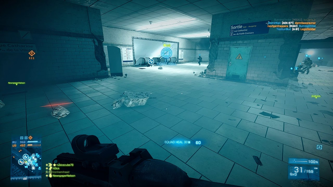 Flyguys Tags Battlefield 3 Xtremenoobs 24 7 Metro Server Youtube