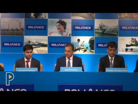 Anil Ambani Introduces His Core Team at Reliance Communications AGM 2016