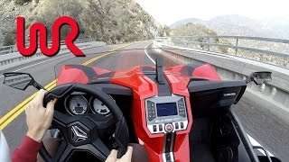2016 Polaris Slingshot SL - WR TV POV Canyon Drive