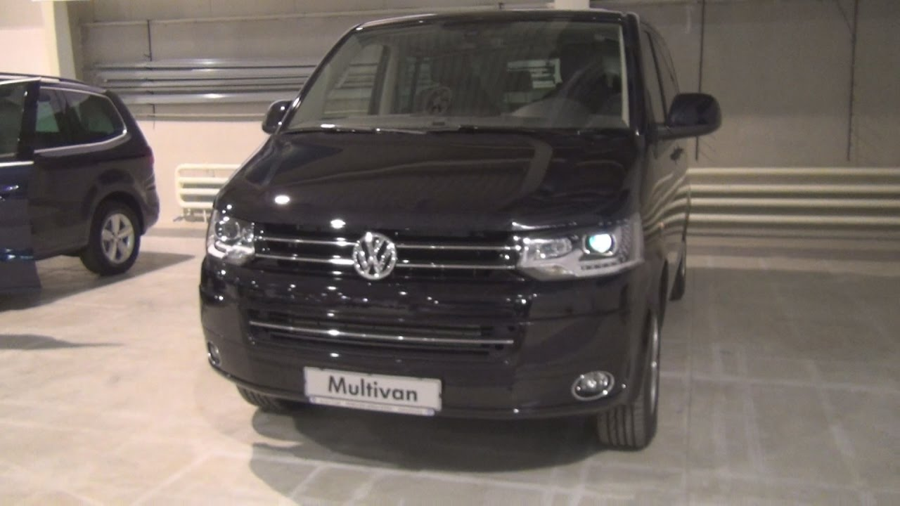 Volkswagen Transporter T5 Multivan Exterior and Interior - YouTube