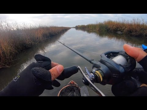 Fishing A Hidden MAZE (Striper Fishing The California Delta)