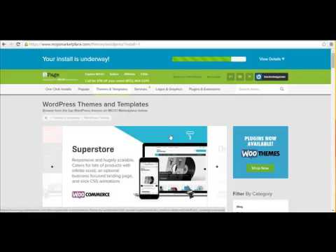 How to install wordpress on Ipage hosting - YouTube