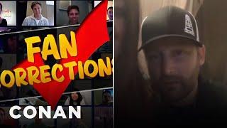 """Fan Correction: You Sang The """"Teenage Mutant Ninja Turtles"""" Theme Wrong!  - CONAN on TBS"""