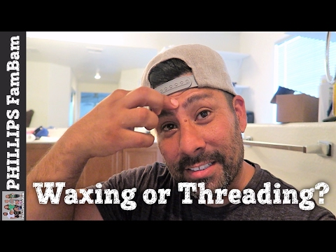 UNIBROW REMOVED | WAXING OR THREADING? | PHILLIPS FamBam Vlogs
