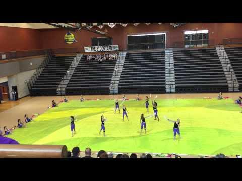 Coosa Middle School Winterguard 3/21/15