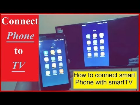 How to connect smart phone to smart TV [ENGLISH]