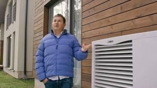 видео Тепловой насос воздух вода: достоинства и недостатки