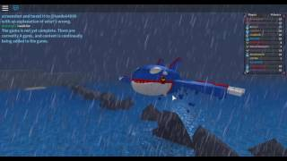 ROBLOX FINALY KYOGRE