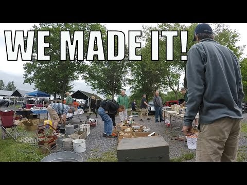 FLEA MARKET SELLING - We Are Back At The Swap Meet!