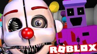 JUGANDO COMO EL ENNARD ANIMATRONIC HUMANOID Juego de rol Roblox FNAF (Cinco noches a nivel de Freddys)