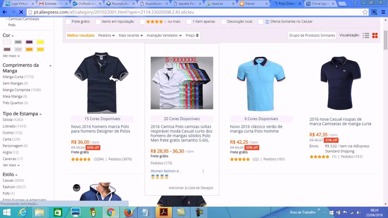 03dfcfe98 como criar uma loja virtual para roupas - YouTube