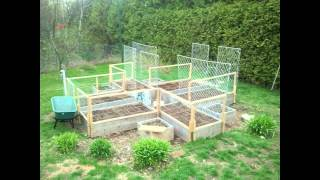 Vegetable Garden Fencing Design