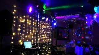 Last-minute wedding reception light hire/DJ in The Queens Hotel Forfar
