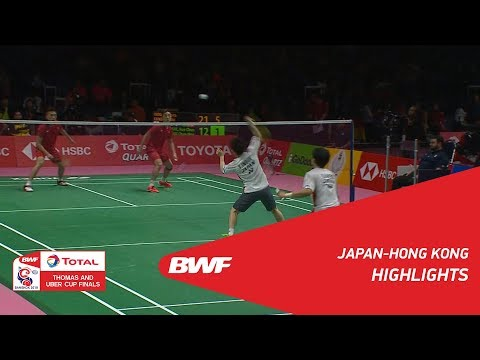 TOTAL BWF Thomas & Uber Cups Finals 2018 | Badminton - Thomas Cup Group C  - Highlights | BWF 2018