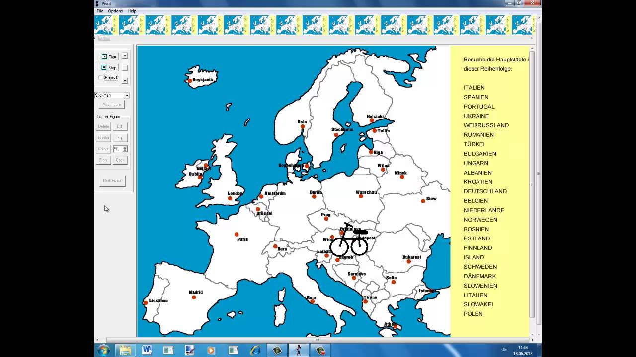 europas l228nder und hauptst228dte youtube