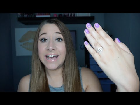 I'M ENGAGED! All about my engagement ring & wedding plans!