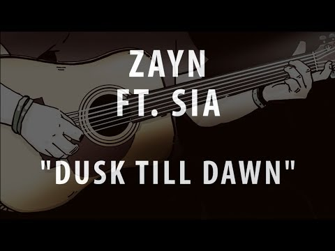 ZAYN FT. SIA - DUSK TILL DAWN (ACOUSTIC INSTRUMENTAL / KARAOKE / COVER)